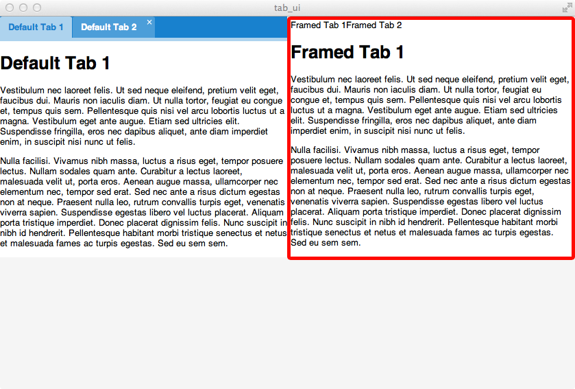 Tab Panels with Custom UI in ExtJS 4.2.1